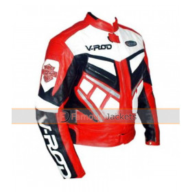 V ROD Men Wear Motorcycle Jacket