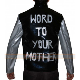 Vanilla Ice Word To Your Mother Vintage Leather Jacket