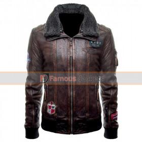 Justice League (Unite The League) Fur Collar Bomber Jacket