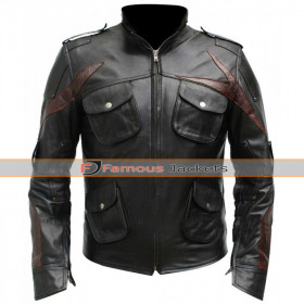 Prototype 2 James Heller Sgt Leather Jacket