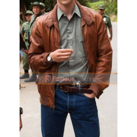 Narcos Steve Murphy Brown Leather Jacket