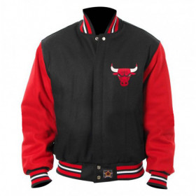 Men's Chicago Bulls Poly Twill Logo Jacket