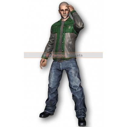 Game JoshOG H1z1 Skin Leather Jacket