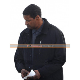 Equalizer 2 Denzel Washington Robert McCall Black Jacket