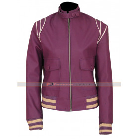 Ruth Wilder Glow Leather Jacket