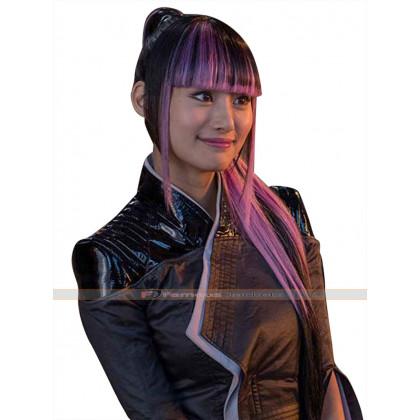 Yukio Deadpool 2 Shioli Kutsuna Leather Jacket