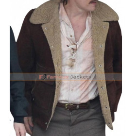 Richard Wershe Sr. White Boy Rick Suede Leather Jacket