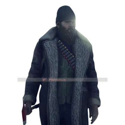 World War Z Exterminator Fur Jacket