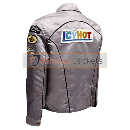 Death Proof Kurt Russell (Stuntman Mike) Icy Hot Satin Racing Jacket