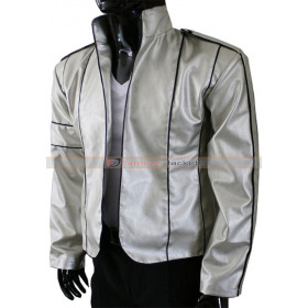 Michael Jackson Heal the World Silver / Black Jackets