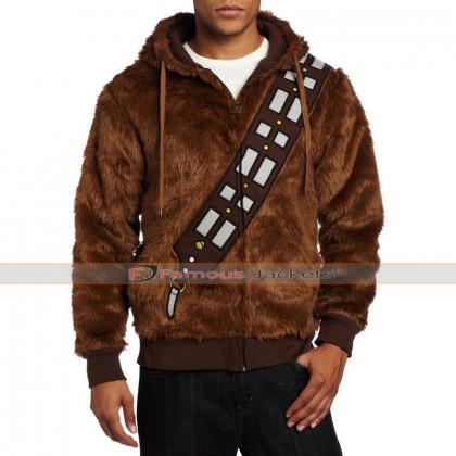 Star Wars Chewbacca Wookie Fur Hooded Jacket