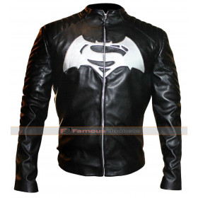 Batman v Superman Dawn of Justice Black Leather Jacket