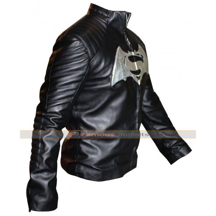 Mens Faux Leather Shirt