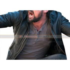 Bent 2018 Danny Gallagher Karl Urban Black Leather Jacket