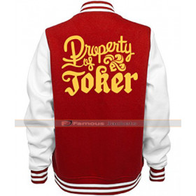 Property Of Joker Varsity Jacket
