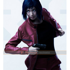 Motoko Kusanagi Ghost in The Shell Red Jacket