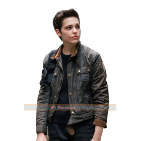Baldwin Sara Serraiocco Counterpart Hooded Leather Jacket