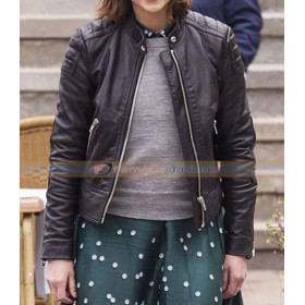 Clara Oswald Doctor Who Jenna Coleman Black Jacket
