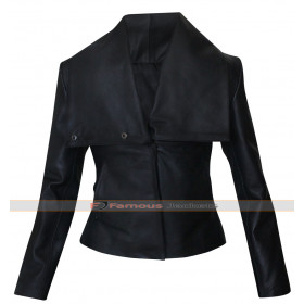 Zoe Saldana Colombiana Cataleya Restrepo Black Jacket