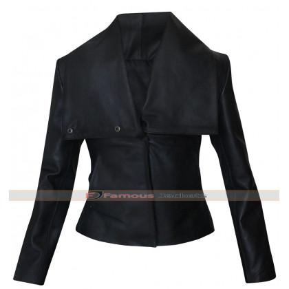 Zoe Saldana Colombiana Cataleya Restrepo Black Jacket