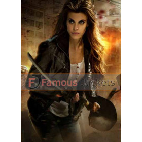 Dead Rising Watchtower Meghan Ory Black Leather Jacket