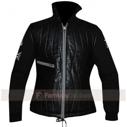 Edge Of Tomorrow Emily Blunt (Rita Vrataski) Black Jacket