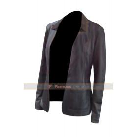 Joy Movie Jennifer Lawrence (Mangano) Black Jacket