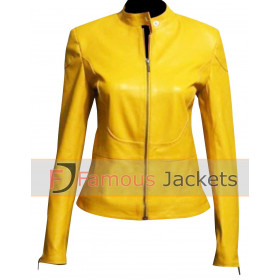 Teenage Mutant Ninja Turtles Megan Fox Yellow Jacket