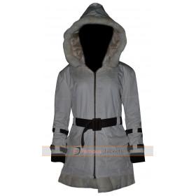 Resident Evil 6 Game Sherry Birkin Fur Leather Jacket