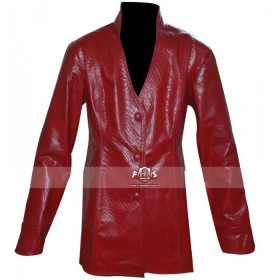 Terminator 3: Rise of the Machines Kristanna Loken (T-X) Red Leather Jacket