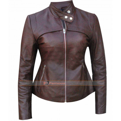 San Andreas Alexandra Daddario (Blake) Leather Jacket