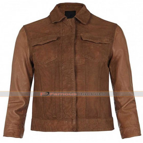 Emery Star Crossed Whitehill Brown Jacket