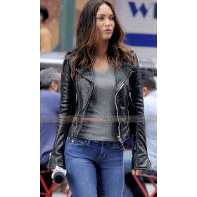 Megan Fox Teenage Mutant Ninja Turtles 2 Black Jacket