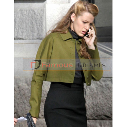 The Age of Adaline Blake Lively Green Jacket