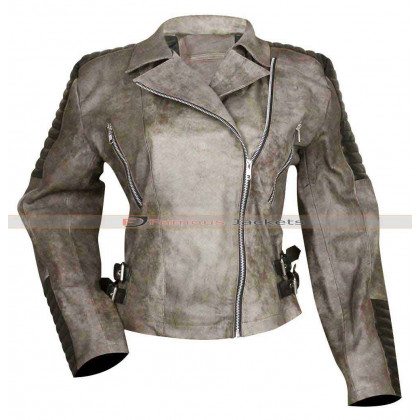 The Walking Dead Season 5 Rosita Espinosa Distressed Jacket