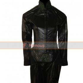 X-Men Anna Paquin (Rogue ) Black Leather Costume