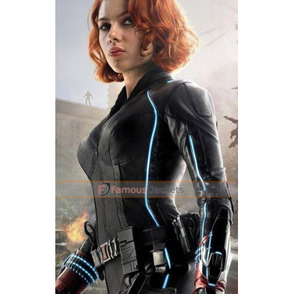 Avengers Age of Ultron Black Widow (Scarlett Johansson) Jacket