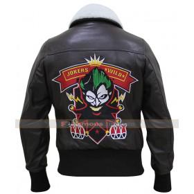 Bombshell Harley Quinn Jokers Wild Brown Jacket