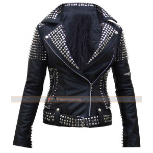 Britney Spears Till The World Ends Spiked Jacket