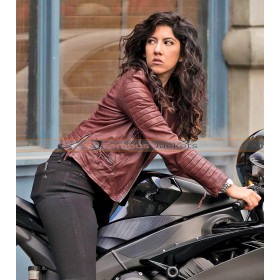 Brooklyn 99 Rosa Diaz Biker Leather Jacket