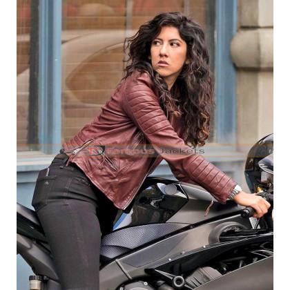 Brooklyn 99 Rosa Diaz Biker Leather Jacket