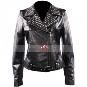Keira Knightley (Domino Harvey) Black Leather Jacket