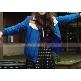Nadine Edge of Seventeen Blue Jacket