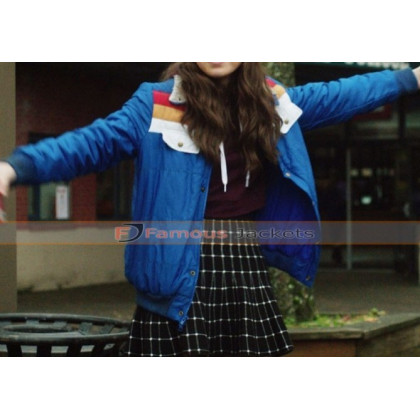 Nadine Edge of Seventeen Blue Jacket