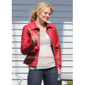 Once Upon A Time Emma Swan (Jennifer Morrison) Red / Blue Jacket