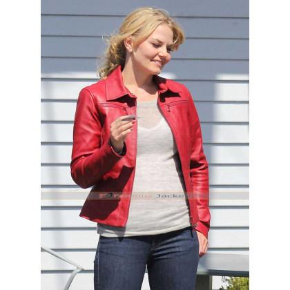 Once Upon A Time Emma Swan (Jennifer Morrison) Red / Blue Jacket