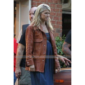 American Made Lucy Seal Sarah Wright Brown Jacket