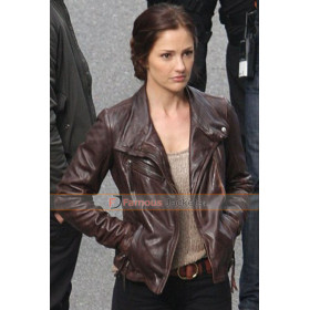 Almost Human Valerie Stahl Leather Jacket