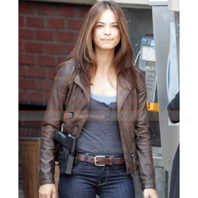 Catherine Chandler Beauty And The Beast Brown Leather Jacket