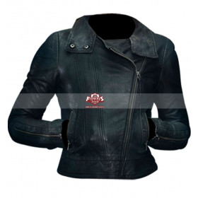 Anna Torv Fringe Olivia Dunham S5 Leather Jacket